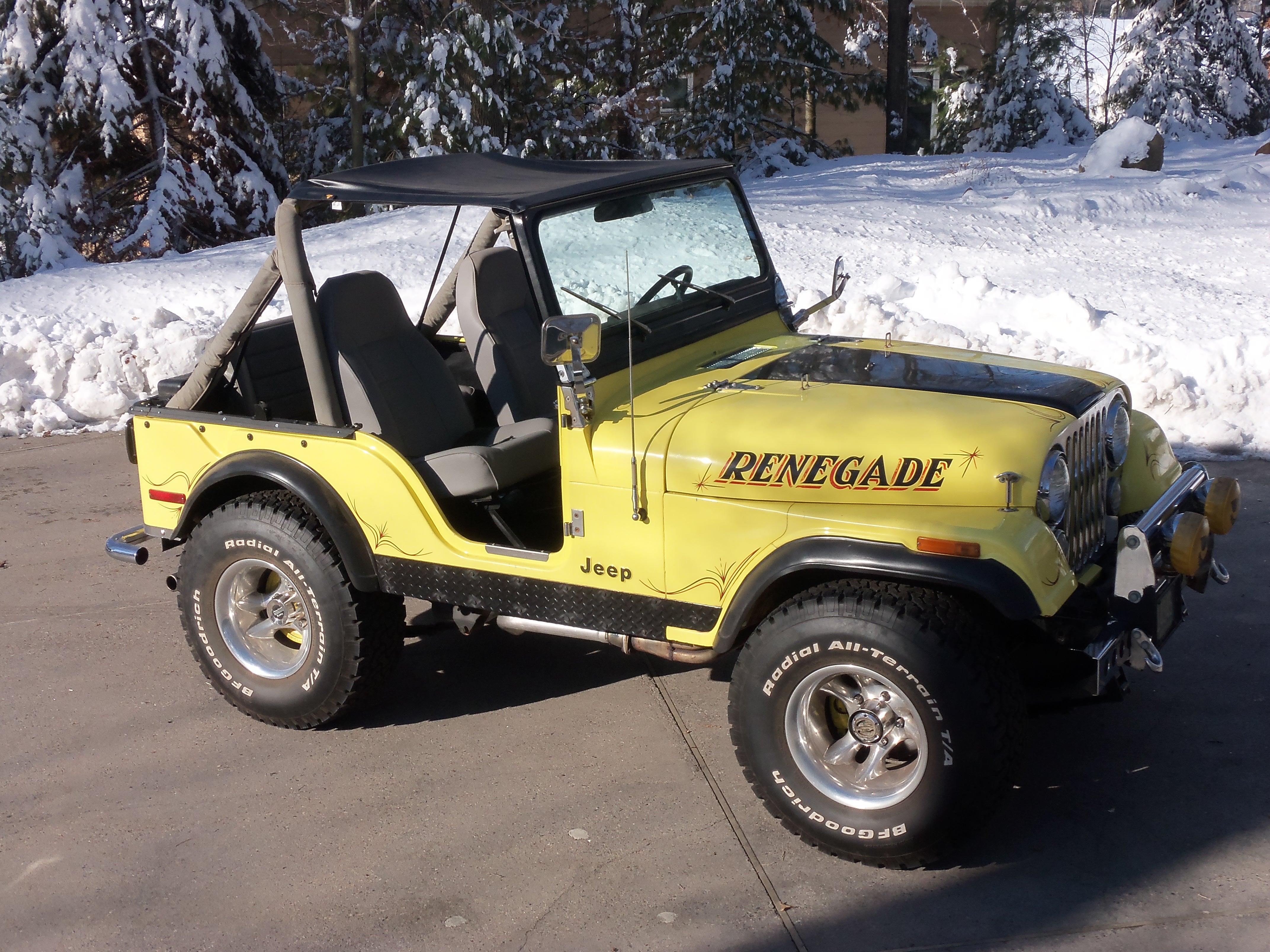 cj5 jeep - sold