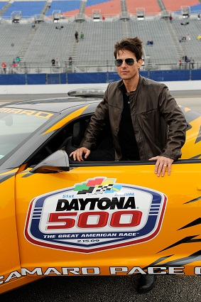 Tom Cruise drove the 2009 Daytona 500 Pace Car