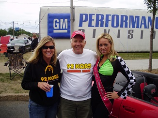 Terri Traen - KQRS, Jim , 2008 Miss Car Craft - Chrissy