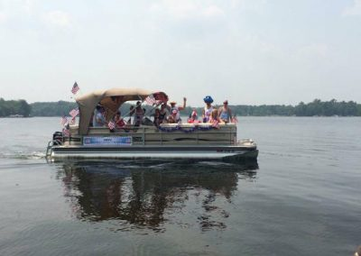 July 4, 2015 Boat Parade on Half Moon Lake
