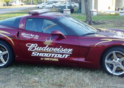 2006 Bud Shoot-Out Daytona Corvette  (photo by Jim Smith)