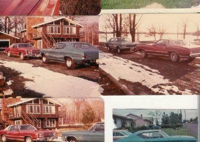 '77 Monte Carlo - Firethorn/silver top