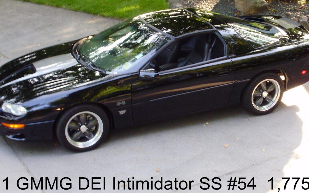 2001 GMMG DEI Intimidator Camaro #54
