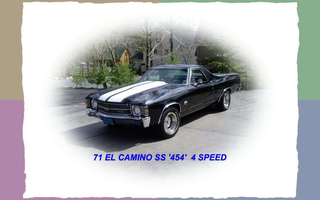Old Chevy's  Sold – El Camino's & more
