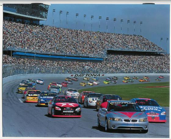 3 of 4 'real' 2000 Daytona 500 Pace Cars